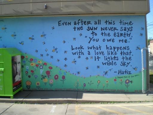 One of my favorite Hafiz Poems