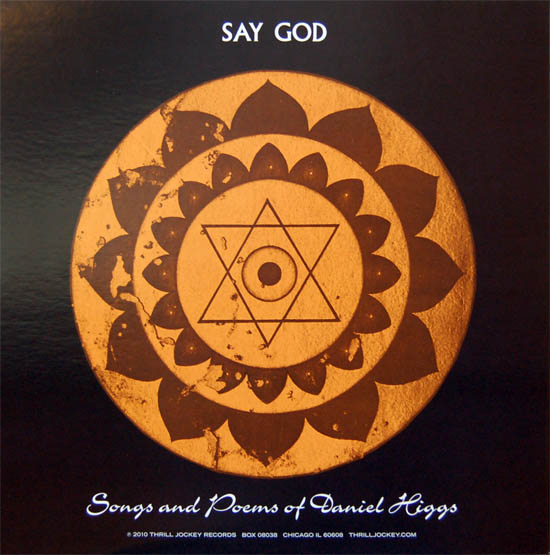 Say God by Daniel Higgs